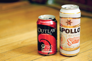 outlaw ipa and sixpoint beer