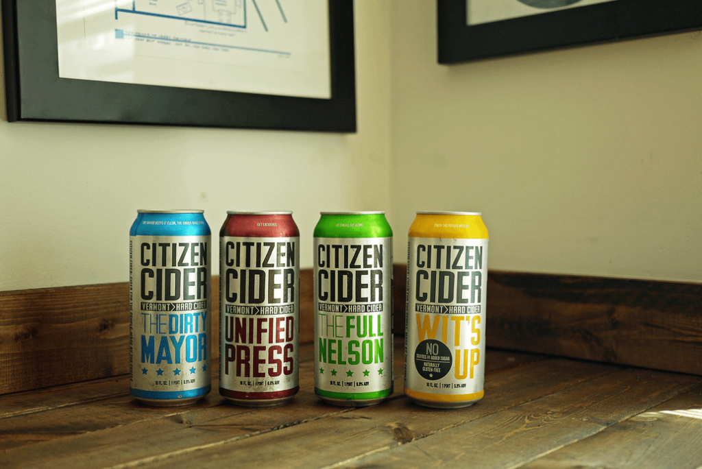 citizen cider Burlington vermont