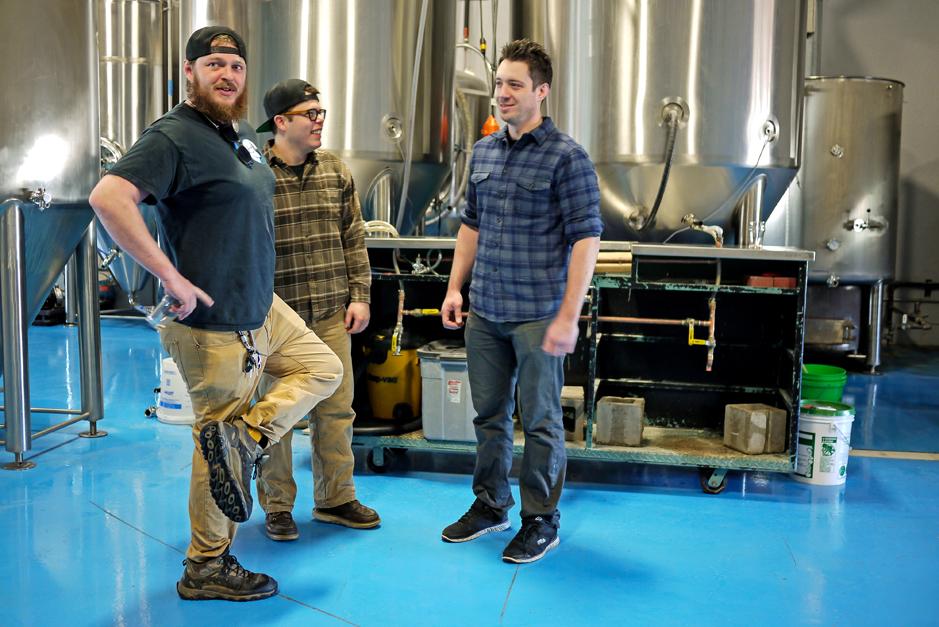 blue nose brewers, david kelley, nathan garcia and jordan isenberg