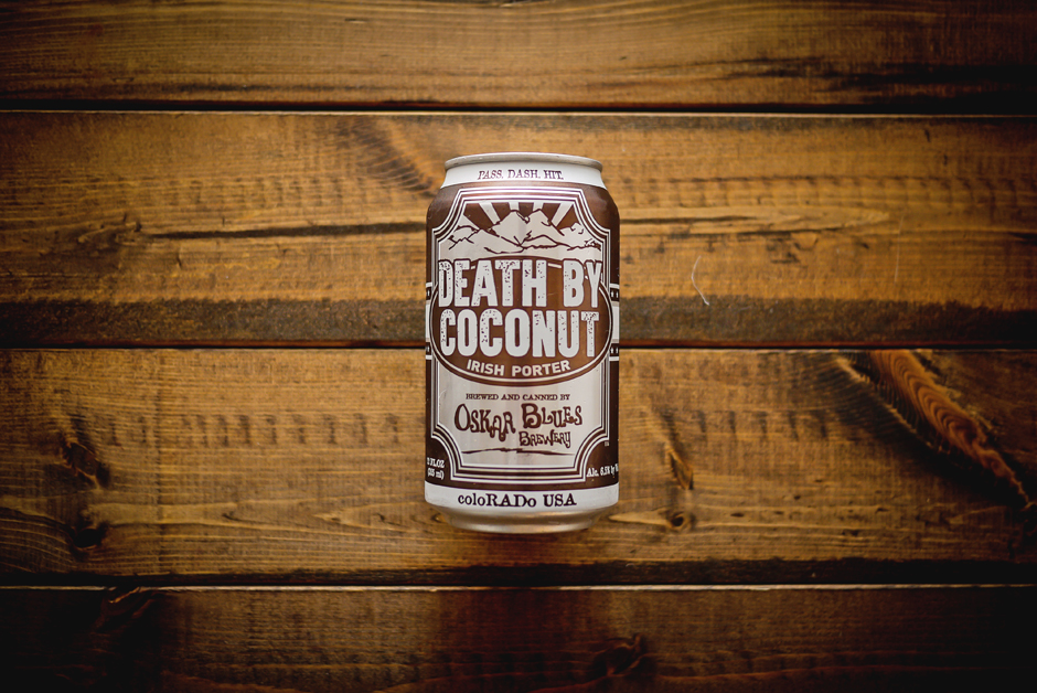 oskar blues brewing death by coconut porter