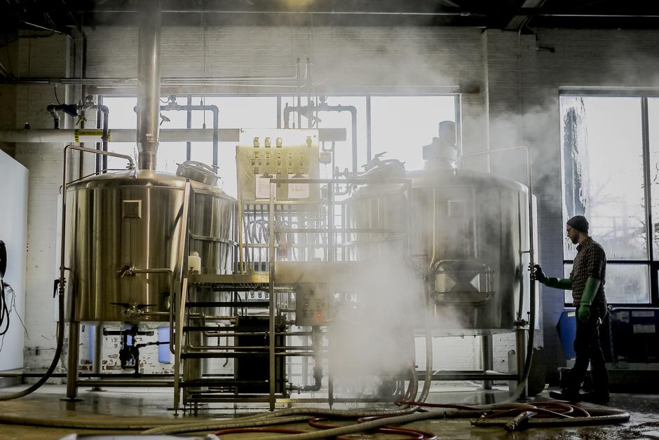 alarmist brewing facility