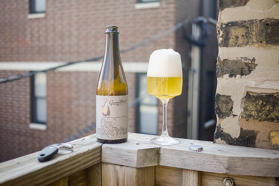 greenbench brewing les grisette wild ale