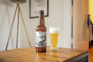 middle brow brewing white light apricot saison
