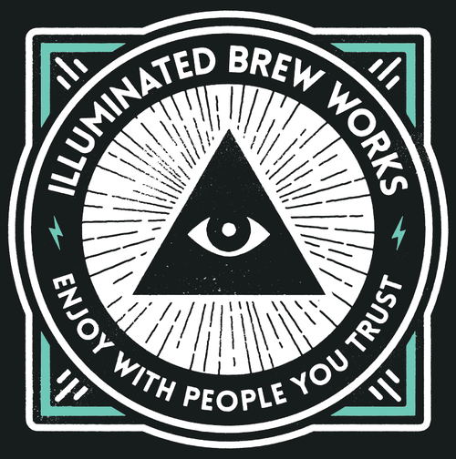 illuminated brew works logo