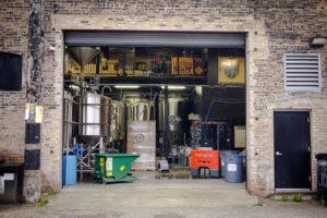 forbidden root back brewery door