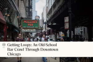 chicago loop bar crawl october beer site