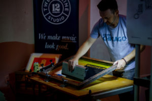 collective arts brewing screen printing