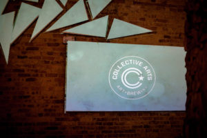 collective arts brewing wall art